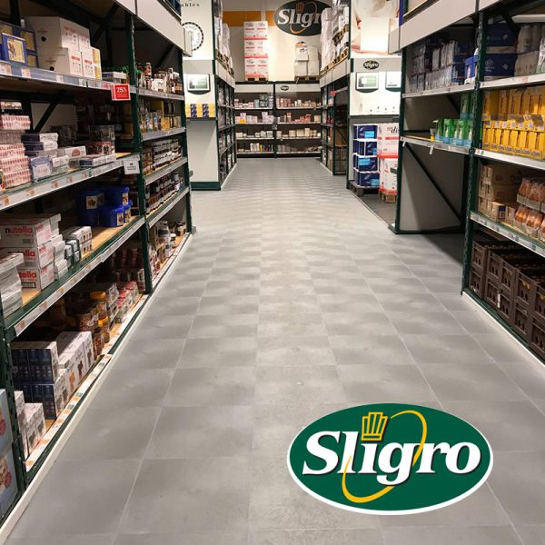 DWL PVC projectvloer Sligro